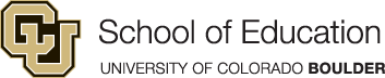 University of Colorado, Boulder, School of Education logo