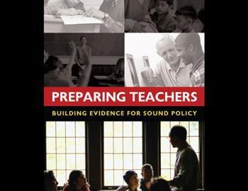 Book cover: Preparing Teachers