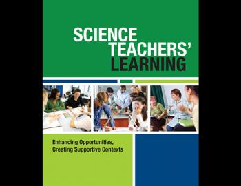 Book cover: Science Teachers' Learning (Report)